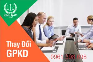 Dịch vụ Thay đổi giấy phép kinh doanh